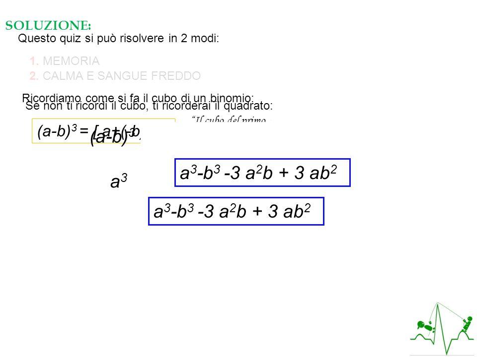 (a-b)3 = (a-b) (a-b)2 =(a-b) (a2 + b2 -2ab)=
