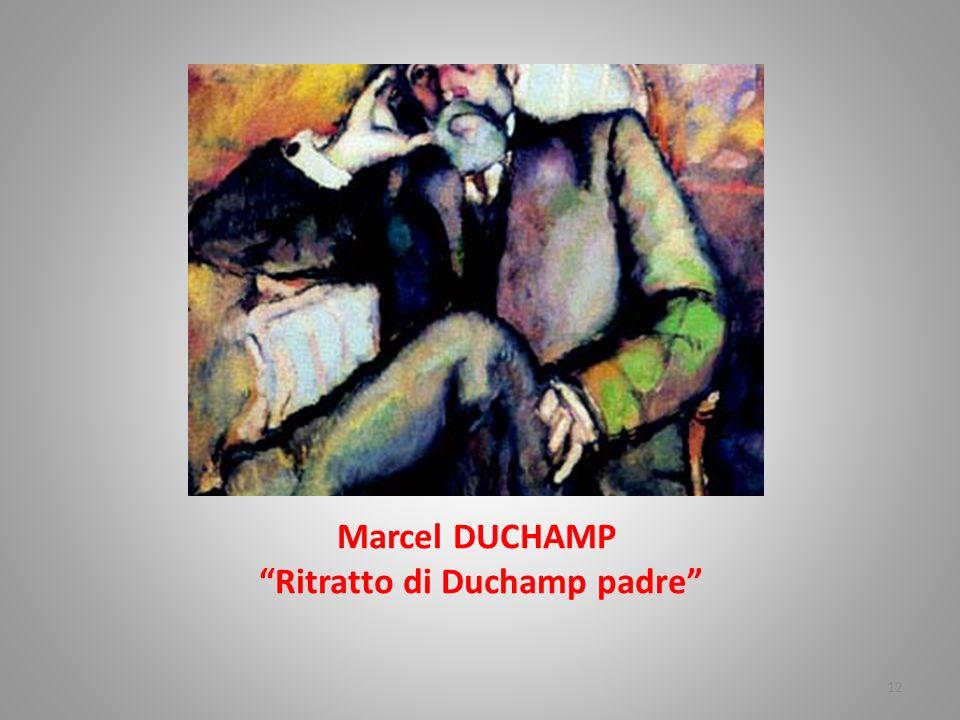 Marcel DUCHAMP Ritratto di Duchamp padre
