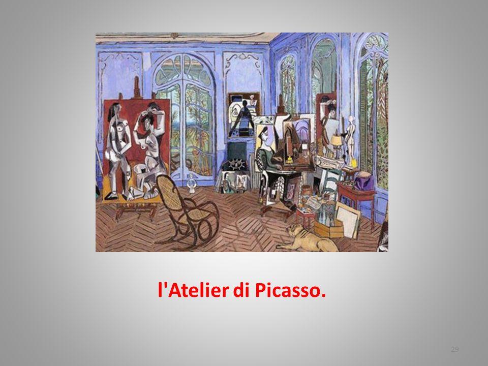 l Atelier di Picasso.