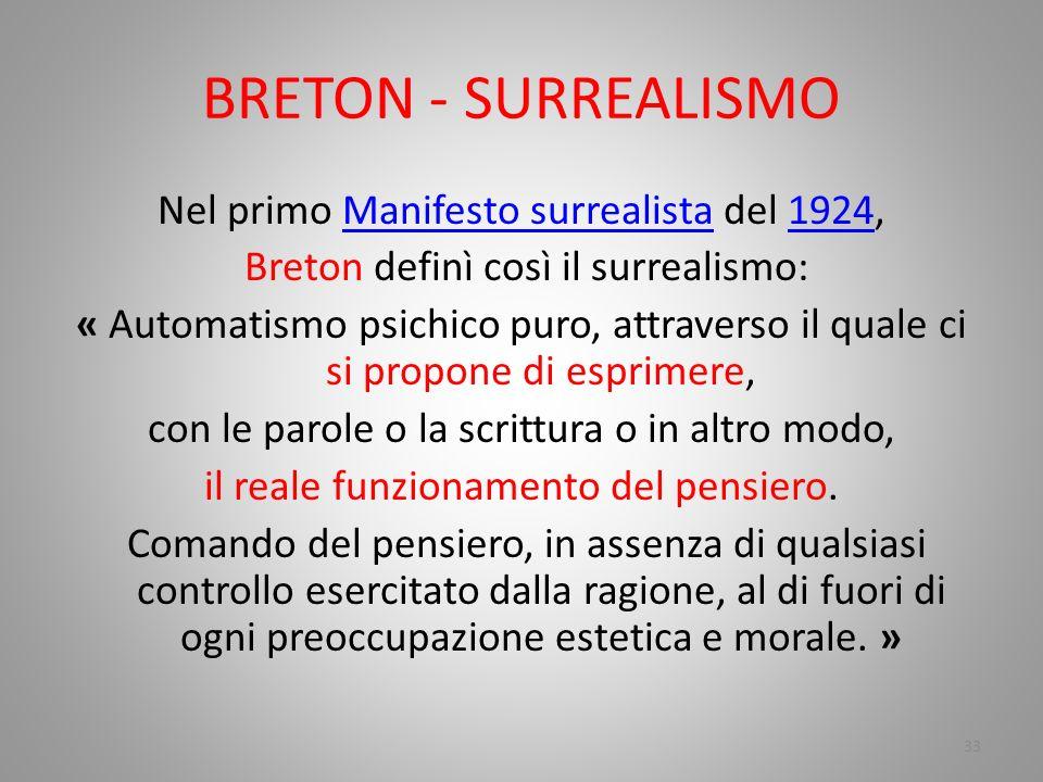 BRETON - SURREALISMO