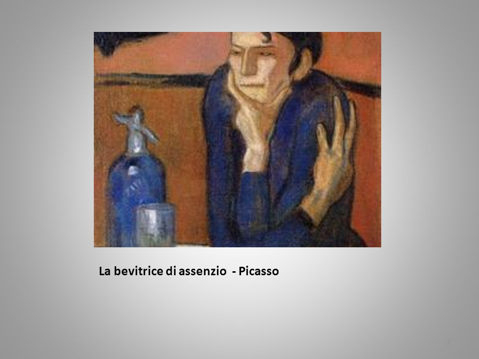 La bevitrice di assenzio - Picasso