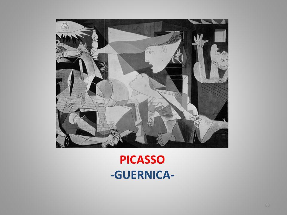 PICASSO -GUERNICA-