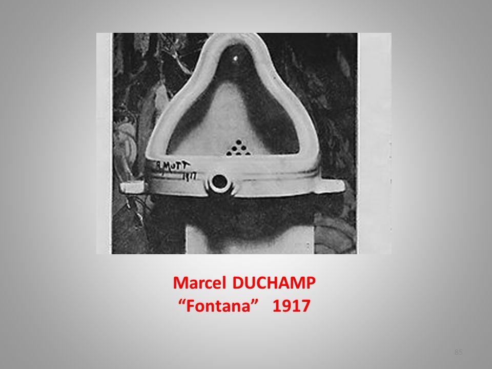 Marcel DUCHAMP Fontana 1917