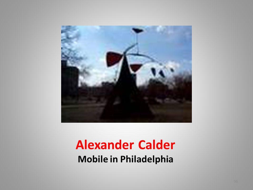 Alexander Calder Mobile in Philadelphia