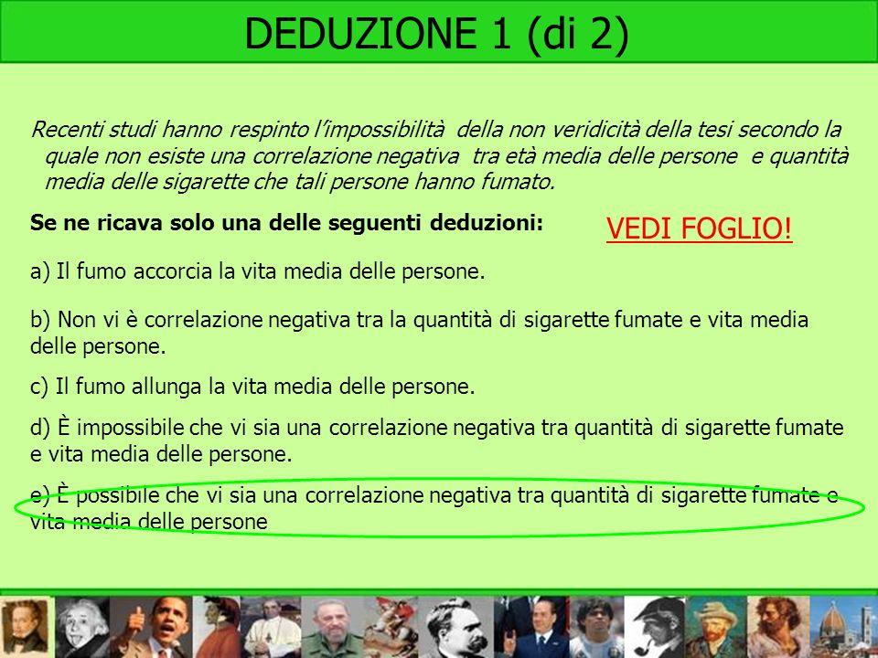 DEDUZIONE 1 (di 2) VEDI FOGLIO!