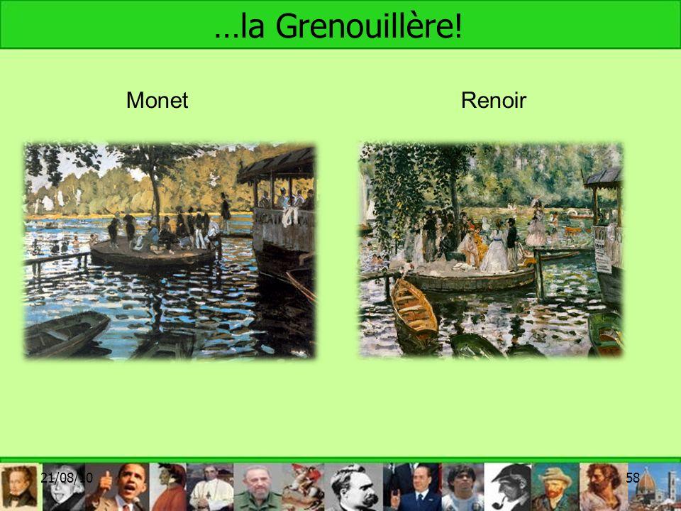 …la Grenouillère! Monet Renoir 21/08/10 58 58