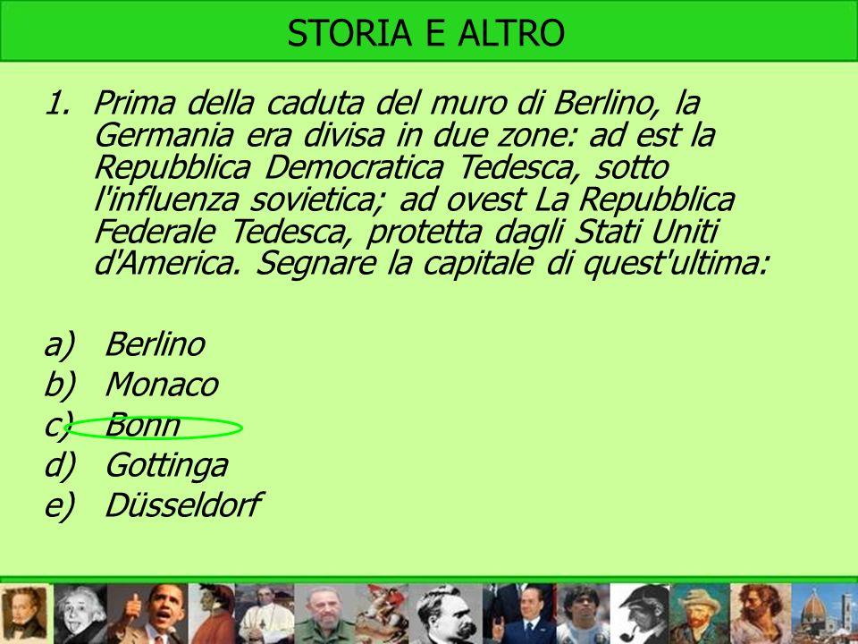 STORIA E ALTRO