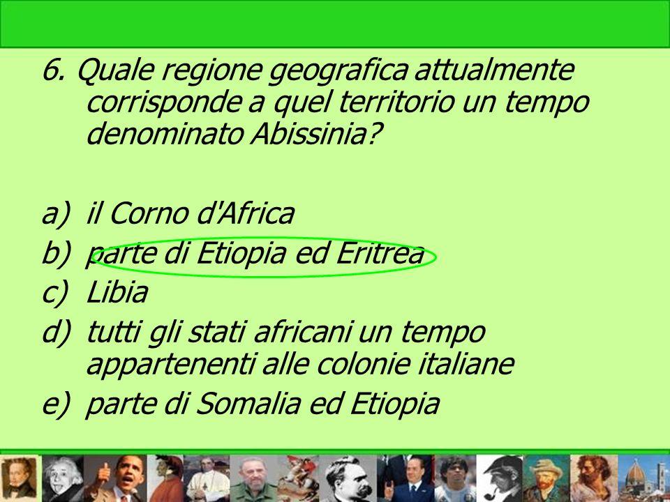 parte di Etiopia ed Eritrea Libia