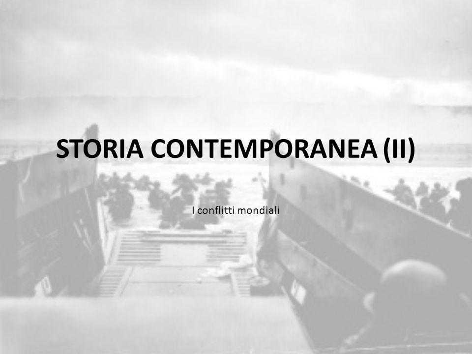 STORIA CONTEMPORANEA (II)
