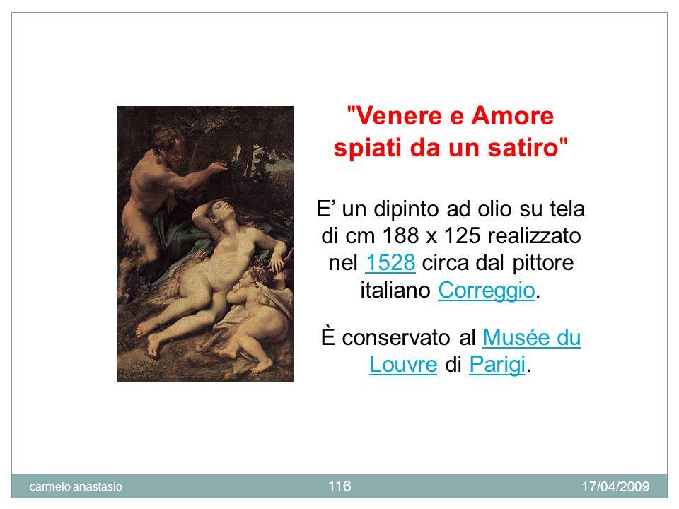 Venere e Amore spiati da un satiro