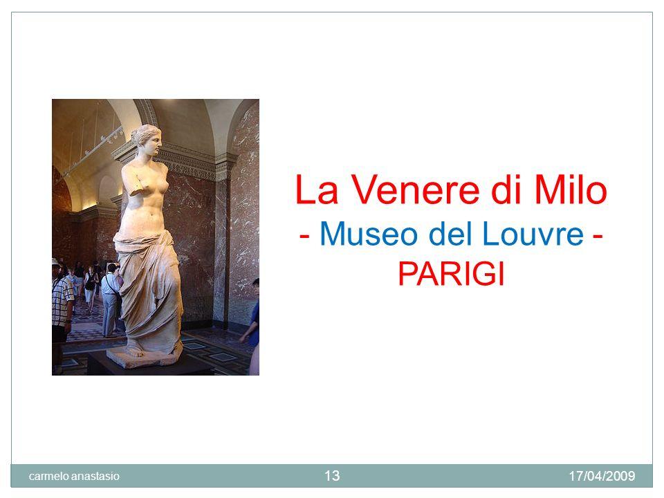 - Museo del Louvre - PARIGI