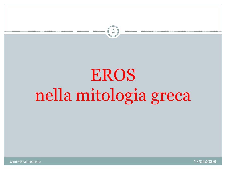 EROS nella mitologia greca