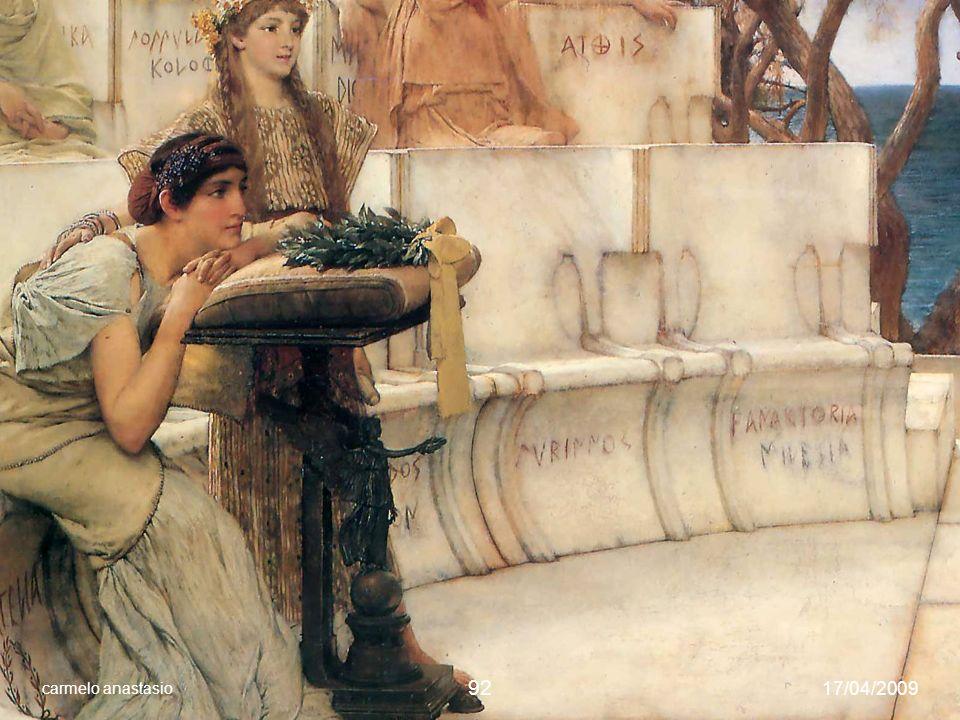 Saffo e Alceo a Mitilene, Lawrence Alma-Tadema (1881)