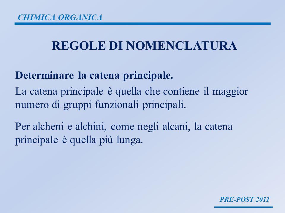 REGOLE DI NOMENCLATURA