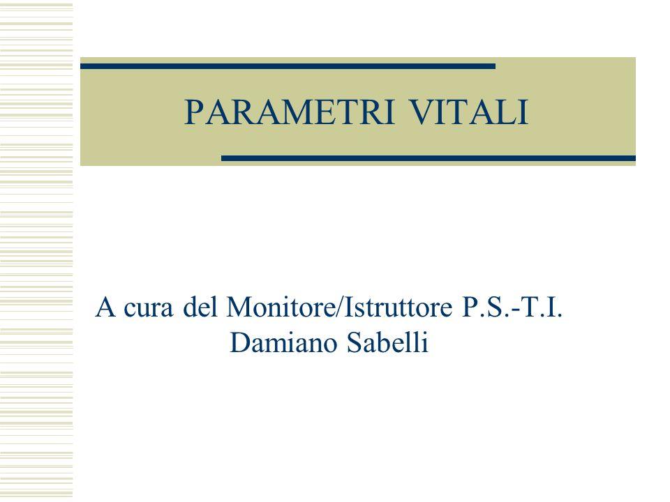 A cura del Monitore/Istruttore P.S.-T.I. Damiano Sabelli