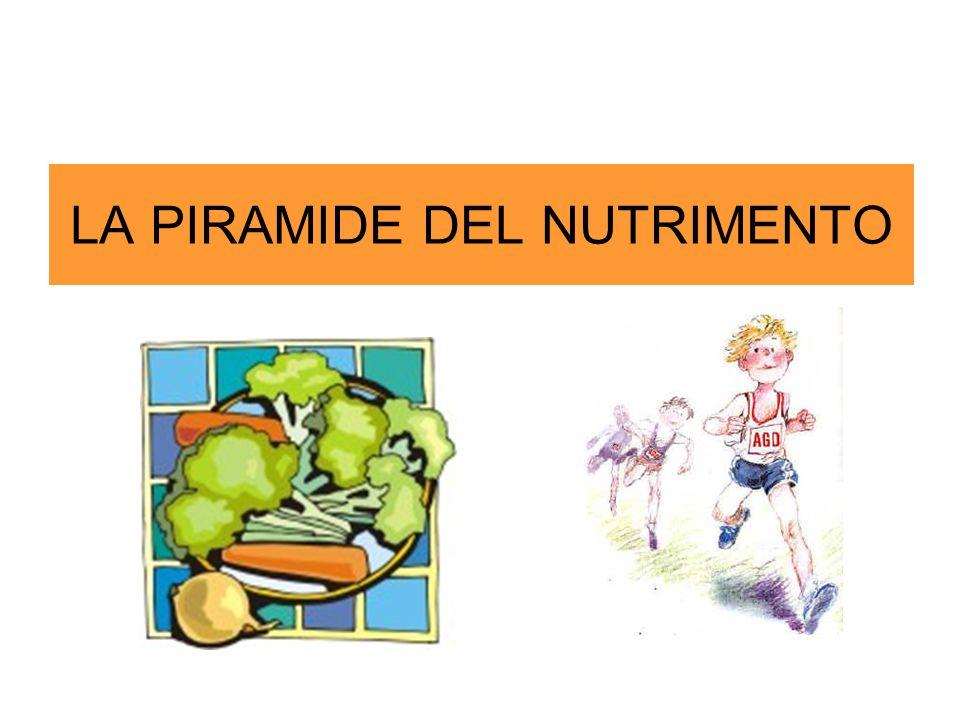 LA PIRAMIDE DEL NUTRIMENTO