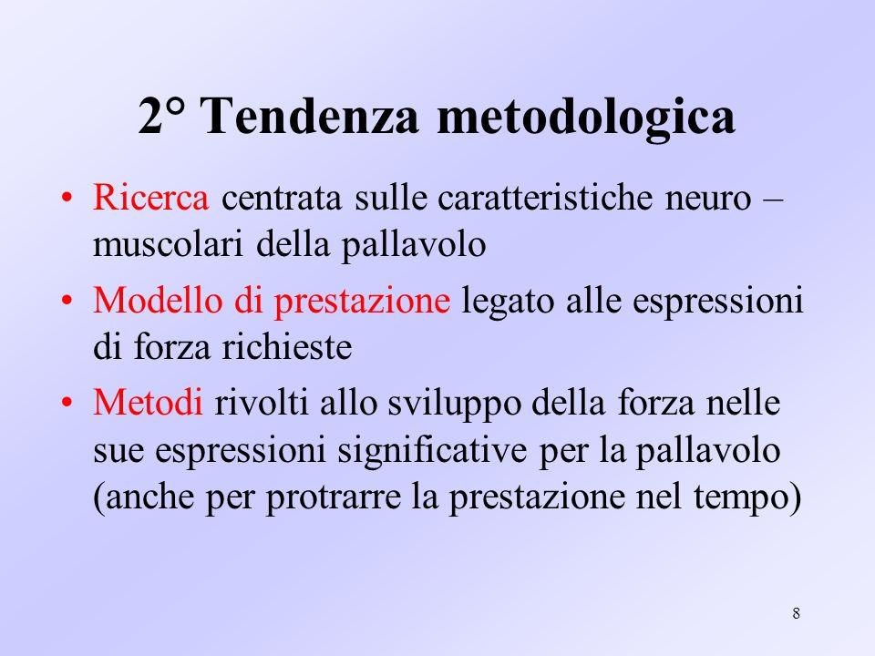 2° Tendenza metodologica
