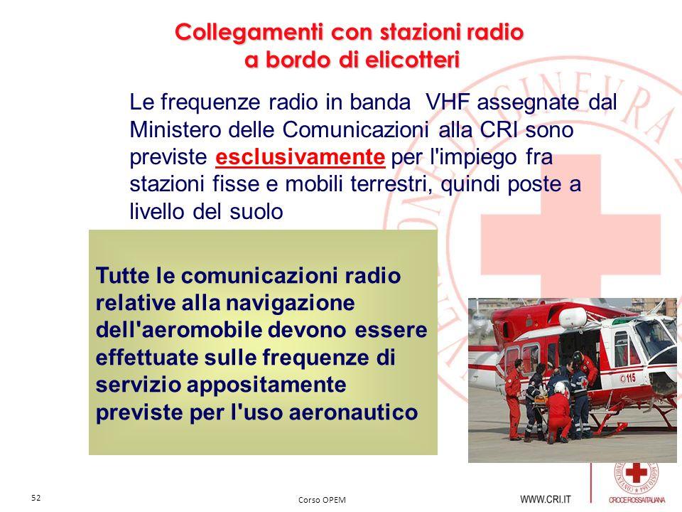 Collegamenti con stazioni radio