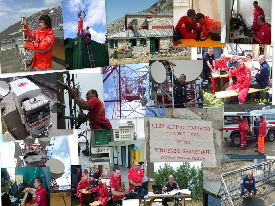 Croce Rossa Italiana 25 Comitato Provinciale roma Radiocomunicazioni