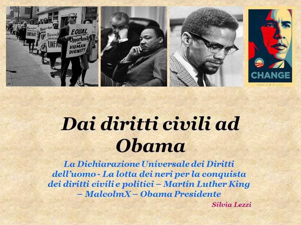 Dai diritti civili ad Obama