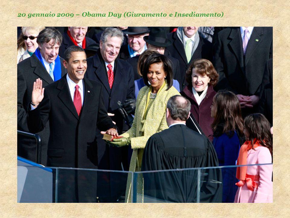 20 gennaio 2009 – Obama Day (Giuramento e Insediamento)