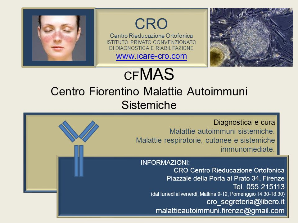 CFMAS Centro Fiorentino Malattie Autoimmuni Sistemiche