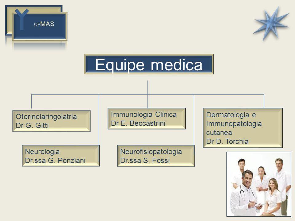 Equipe medica Immunologia Clinica Dr E. Beccastrini