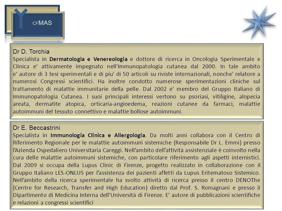 CFMAS Dr D. Torchia.