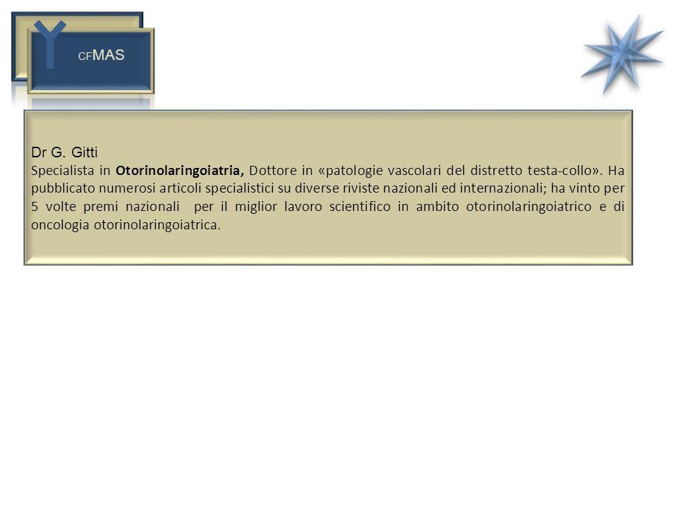 CFMAS Dr G. Gitti.