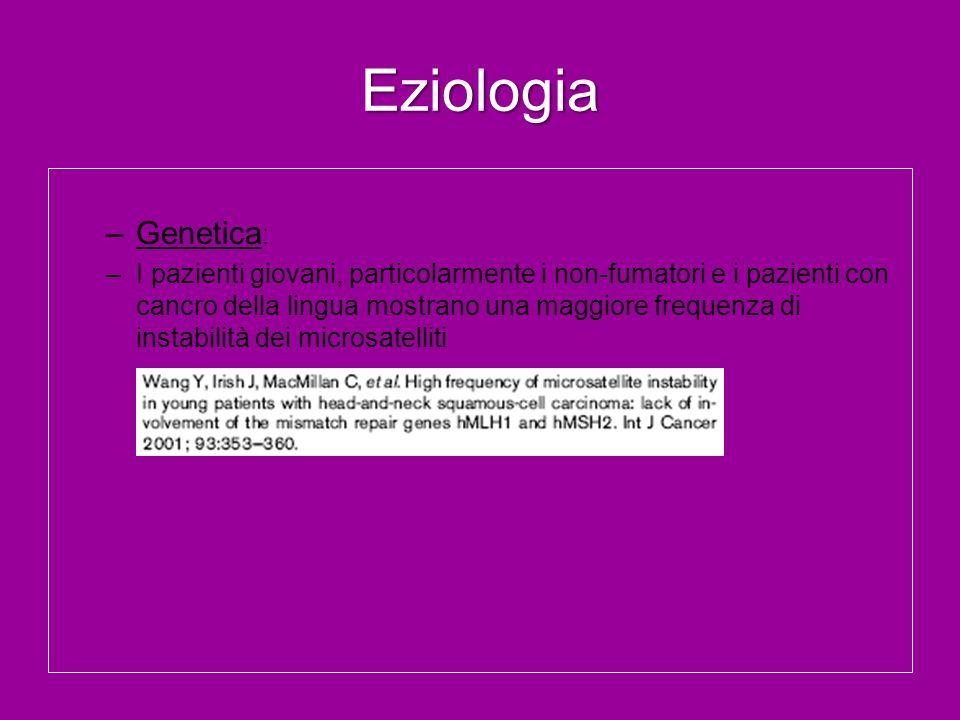 Eziologia Genetica: