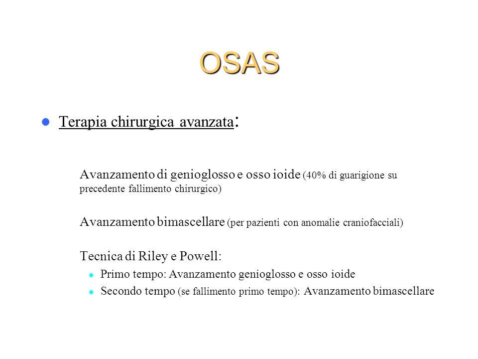 OSAS Terapia chirurgica avanzata: