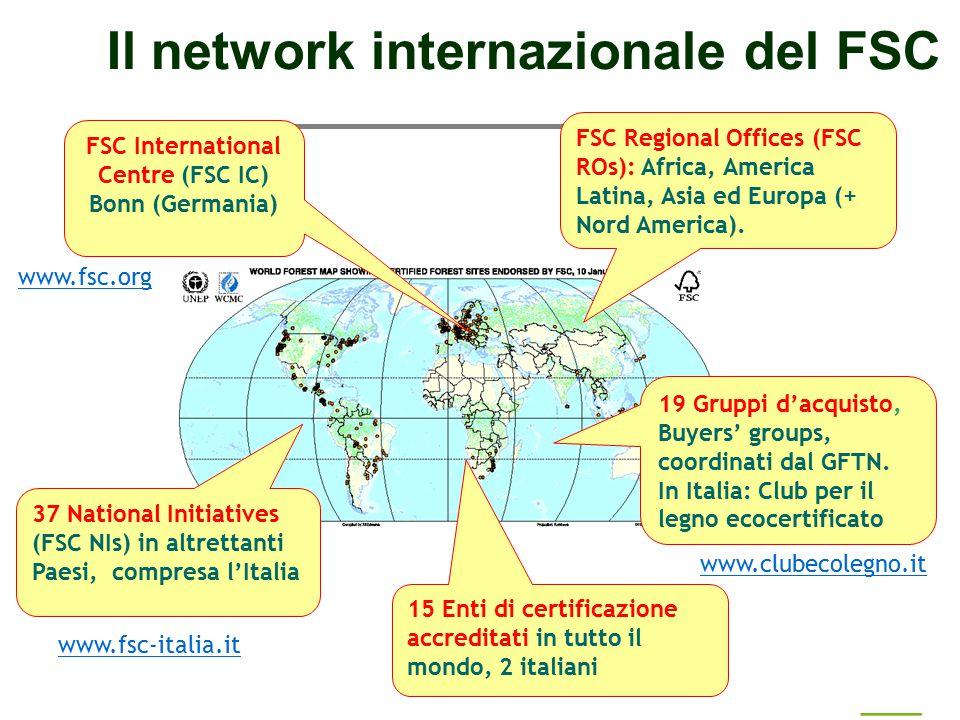 Il network internazionale del FSC