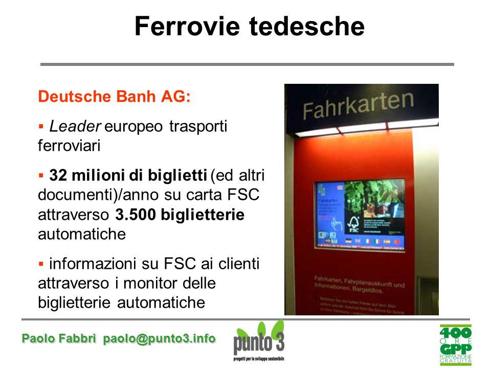 Ferrovie tedesche Deutsche Banh AG: