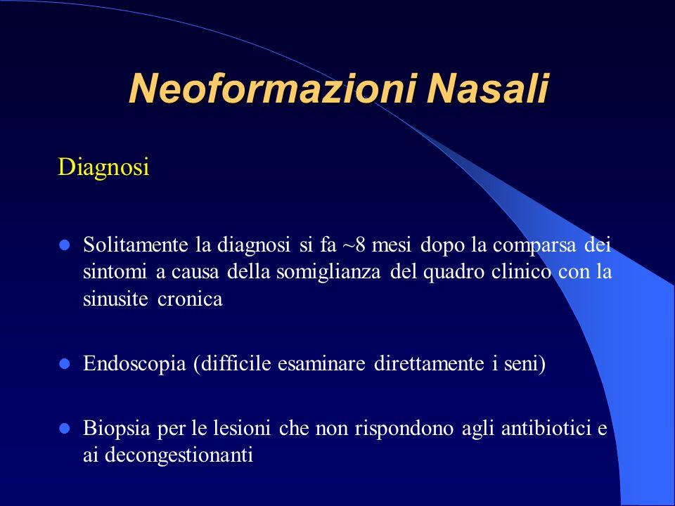 Neoformazioni Nasali Diagnosi