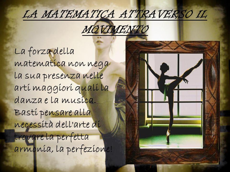LA MATEMATICA ATTRAVERSO IL MOVIMENTO