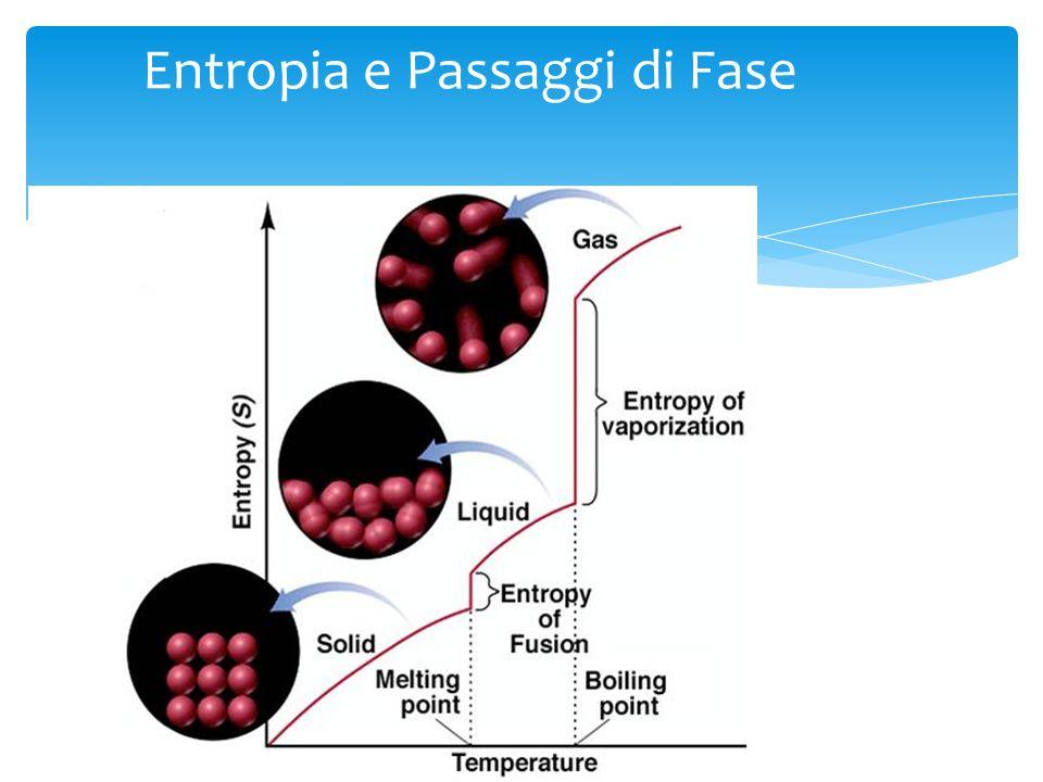 Entropia e Passaggi di Fase