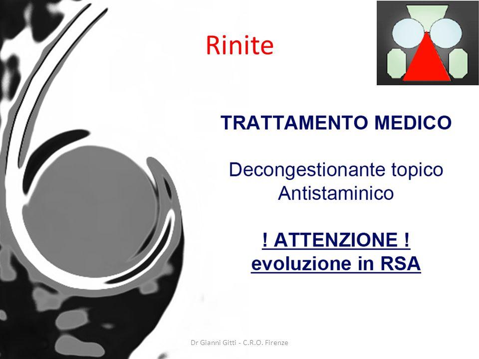Dr Gianni Gitti - C.R.O. Firenze