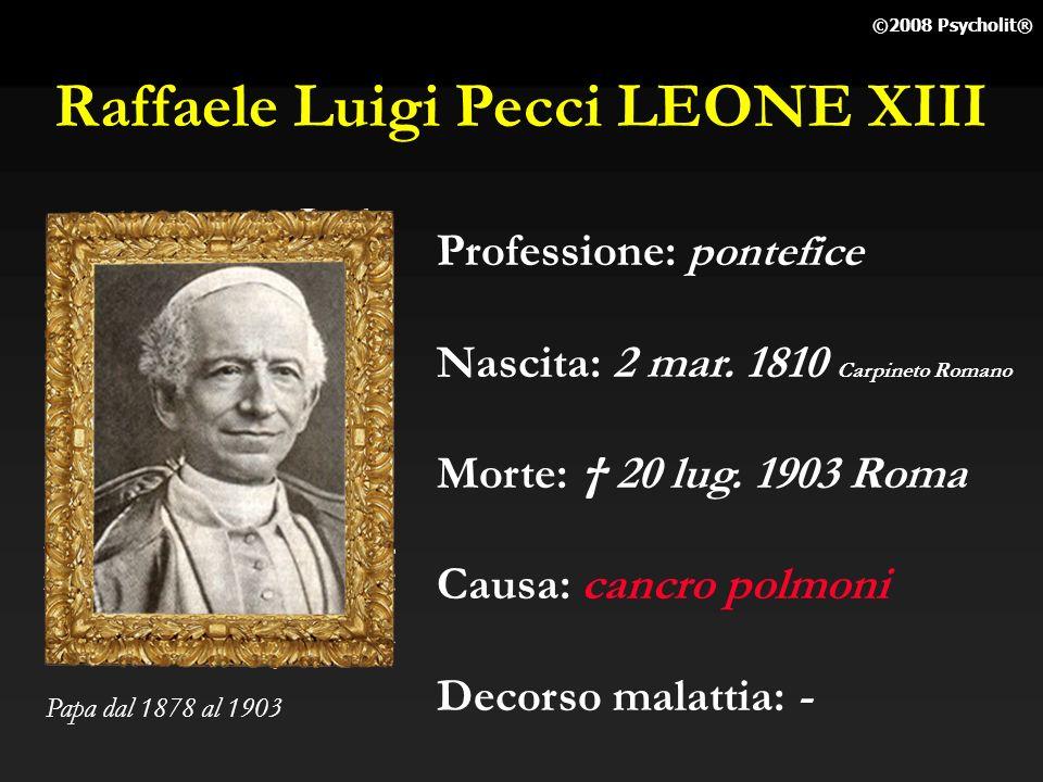 Raffaele Luigi Pecci LEONE XIII
