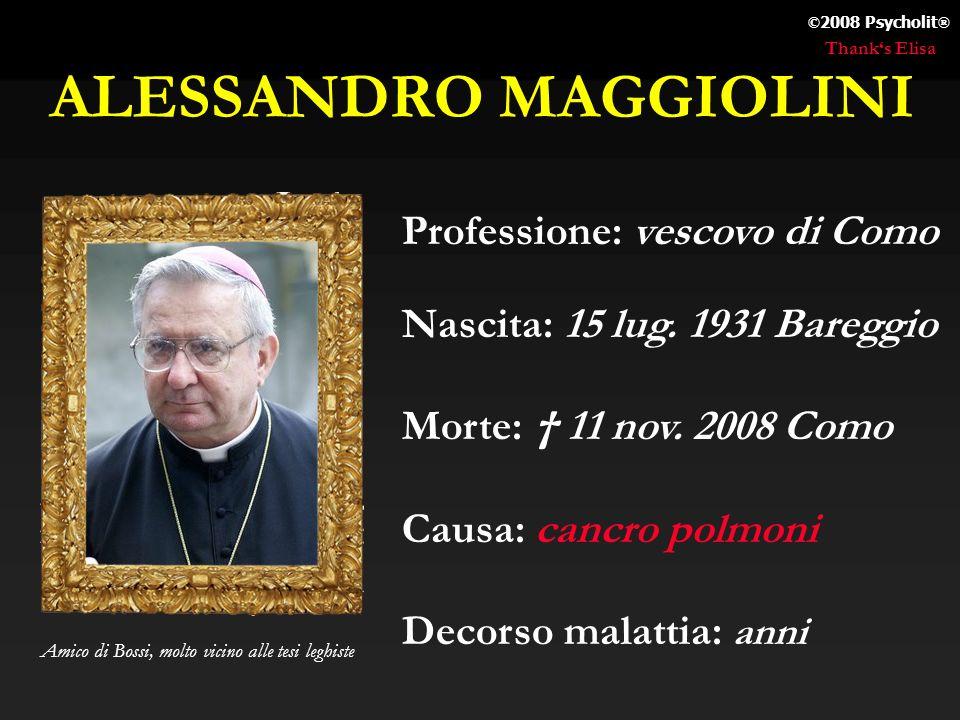 ALESSANDRO MAGGIOLINI
