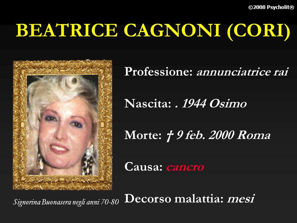 BEATRICE CAGNONI (CORI)