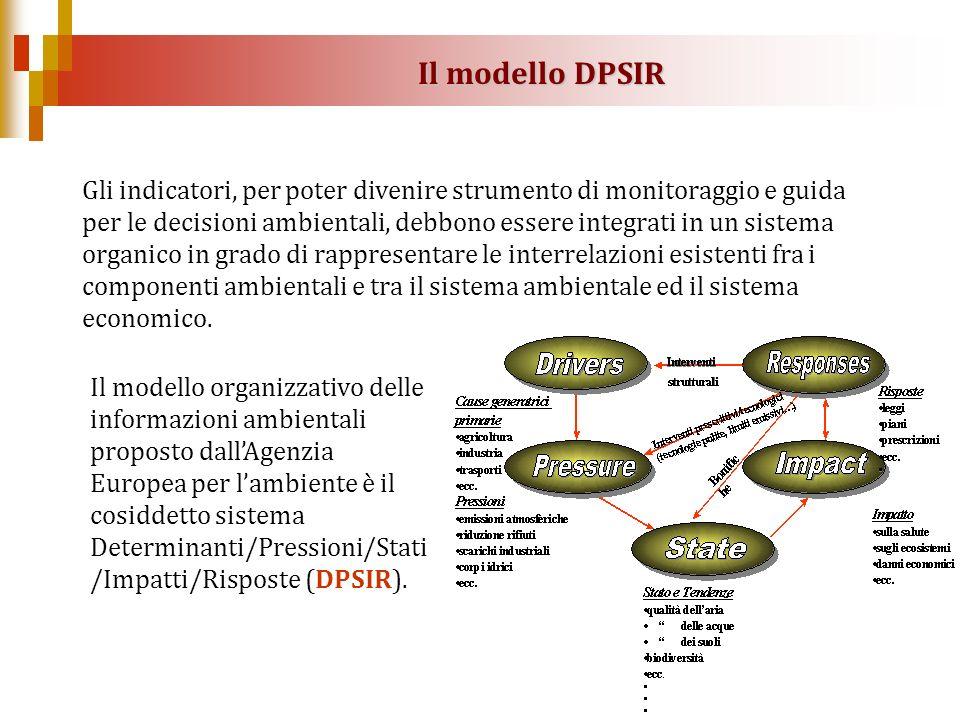 Il modello DPSIR