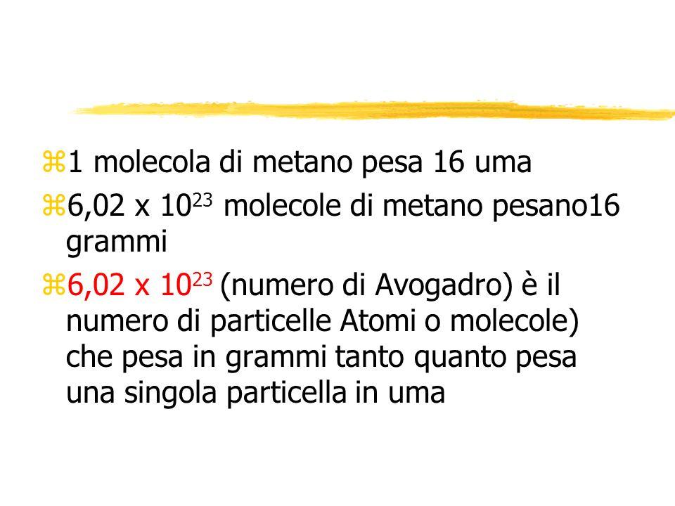 3. Reagente limitante e reagente in eccesso