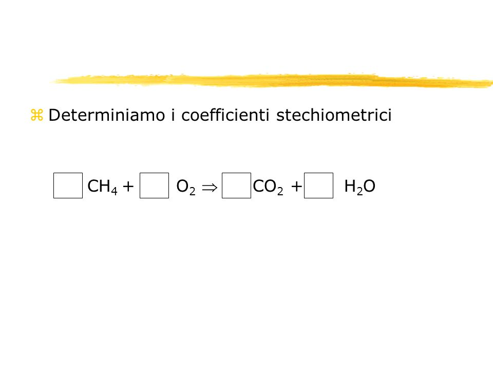 2. I calcoli stechiometrici