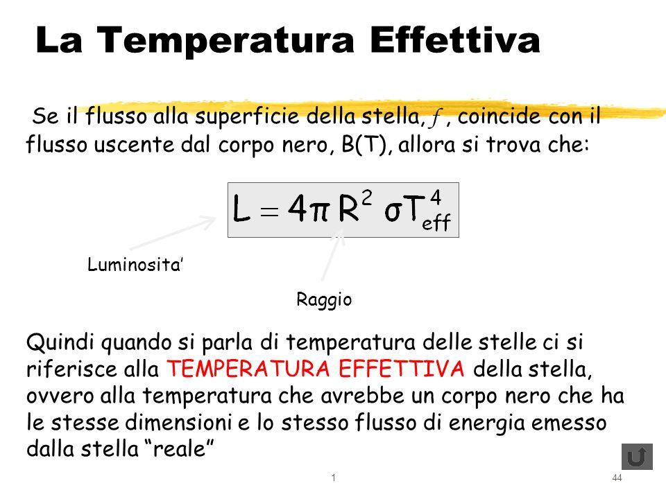 La Temperatura Effettiva