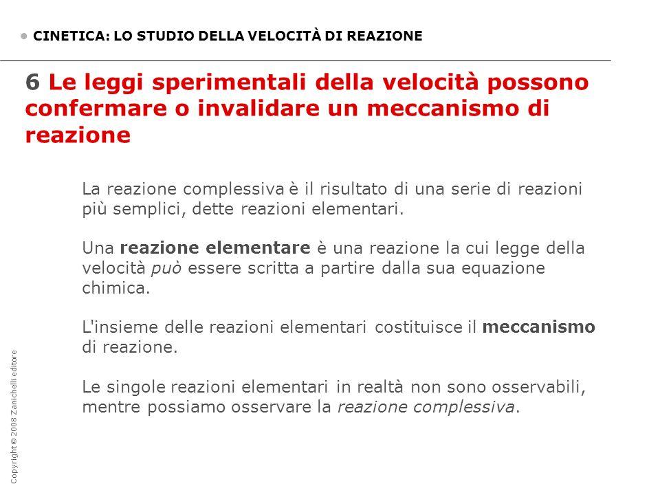 • CINETICA: LO STUDIO DELLA VELOCITÀ DI REAZIONE
