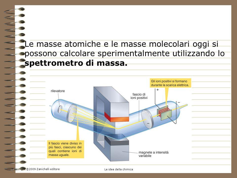 4. La massa atomica e la massa molecolare