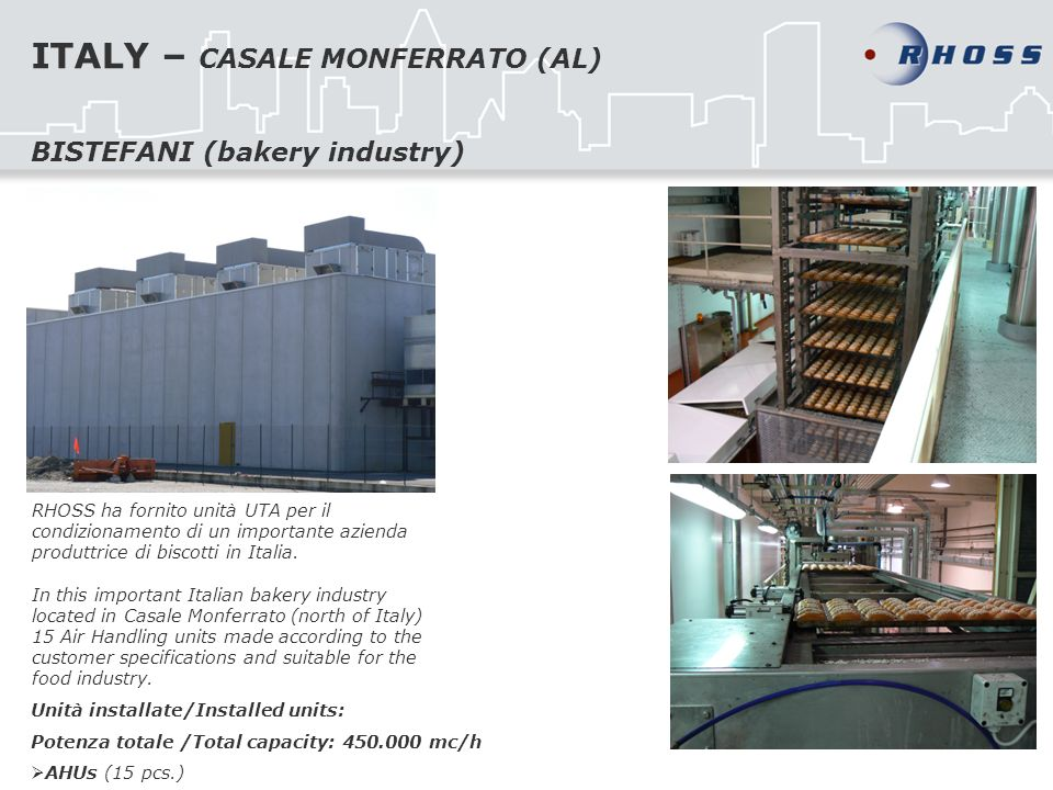 ITALY – CASALE MONFERRATO (AL)