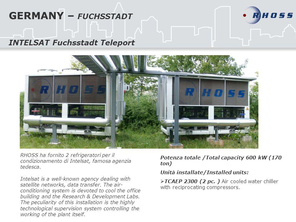 GERMANY – FUCHSSTADT INTELSAT Fuchsstadt Teleport