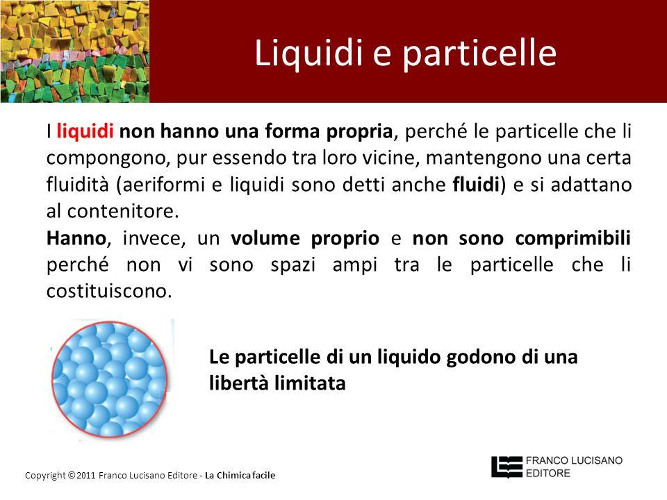 Liquidi e particelle