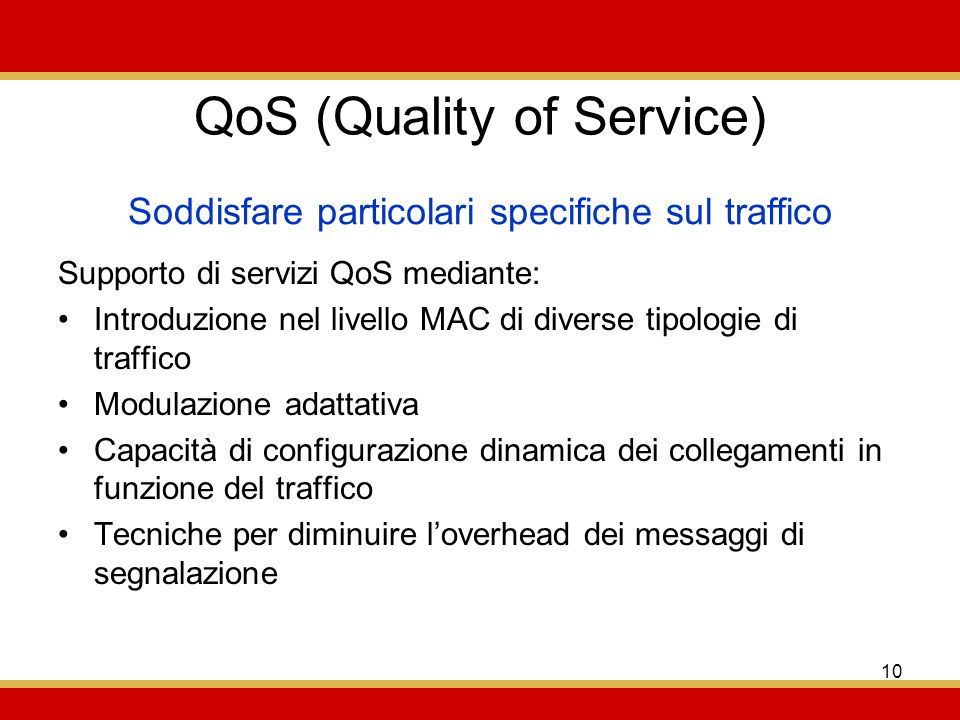 QoS (Quality of Service)